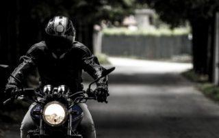 Verkehrsunfall Biker Motorrad